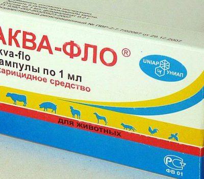 Инструкция по применению препарата «Аква-фло» для обработки пчел от клеща осенью и лечения