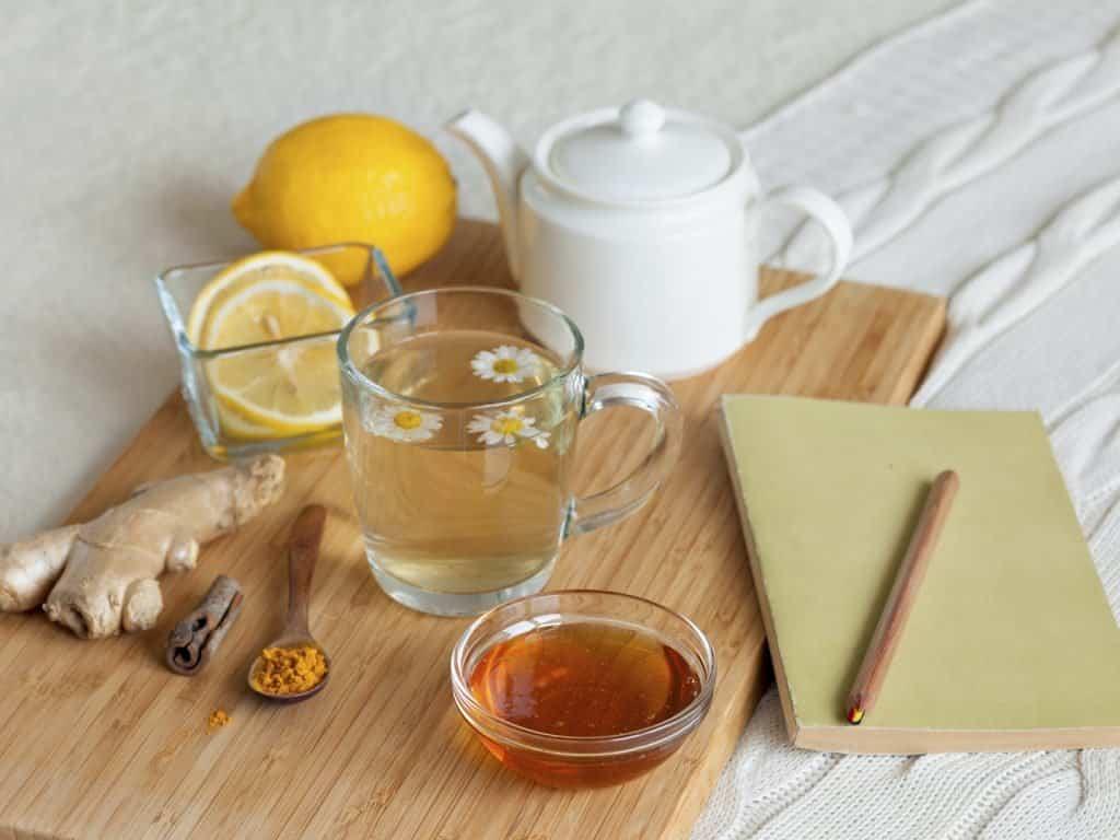Чай с медом помогают похудеть