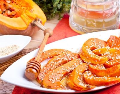 Запеченные кусочки тыквы с медом: рецепты приготовления в мультиварке с фото